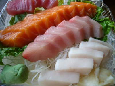 What is white tuna sashimi wish i had gills for Diarrhea after eating fish